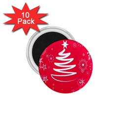 Christmas Tree 1.75  Magnets (10 pack)