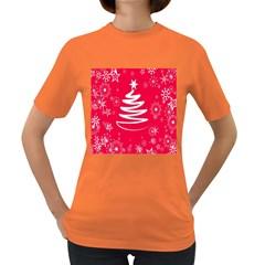 Christmas Tree Women s Dark T-Shirt