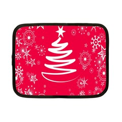 Christmas Tree Netbook Case (Small)