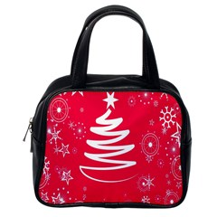 Christmas Tree Classic Handbags (One Side)