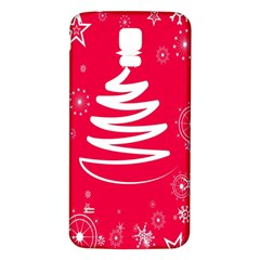 Christmas Tree Samsung Galaxy S5 Back Case (White)