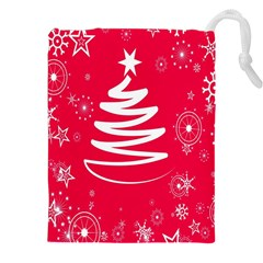 Christmas Tree Drawstring Pouches (XXL)