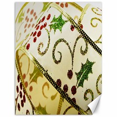 Christmas Ribbon Background Canvas 12  x 16