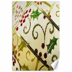 Christmas Ribbon Background Canvas 20  x 30