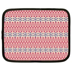 Christmas Pattern Vintage Netbook Case (XL)