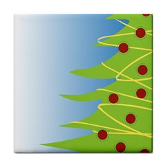 Christmas Tree Christmas Tile Coasters