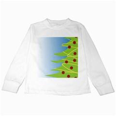 Christmas Tree Christmas Kids Long Sleeve T-Shirts
