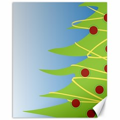 Christmas Tree Christmas Canvas 16  x 20
