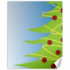 Christmas Tree Christmas Canvas 11  x 14