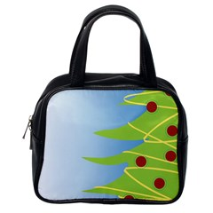 Christmas Tree Christmas Classic Handbags (One Side)