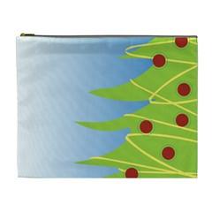 Christmas Tree Christmas Cosmetic Bag (XL)
