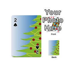 Christmas Tree Christmas Playing Cards 54 (Mini)
