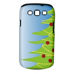Christmas Tree Christmas Samsung Galaxy S III Classic Hardshell Case (PC+Silicone)
