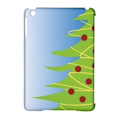 Christmas Tree Christmas Apple iPad Mini Hardshell Case (Compatible with Smart Cover)