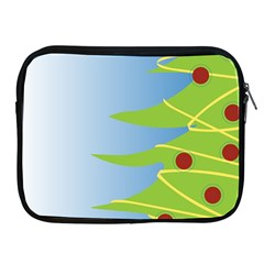 Christmas Tree Christmas Apple Ipad 2/3/4 Zipper Cases
