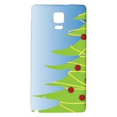 Christmas Tree Christmas Galaxy Note 4 Back Case
