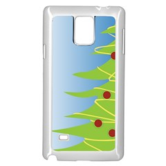 Christmas Tree Christmas Samsung Galaxy Note 4 Case (White)