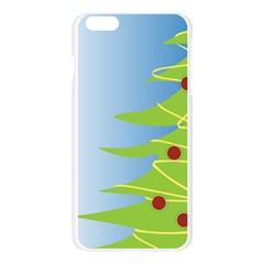 Christmas Tree Christmas Apple Seamless iPhone 6 Plus/6S Plus Case (Transparent)
