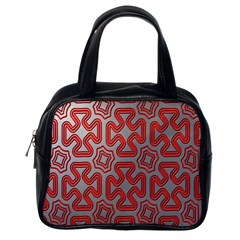 Christmas Wrap Pattern Classic Handbags (One Side)