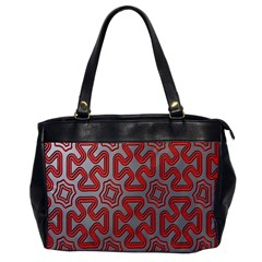 Christmas Wrap Pattern Office Handbags