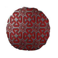 Christmas Wrap Pattern Standard 15  Premium Round Cushions