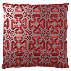 Christmas Wrap Pattern Standard Flano Cushion Case (Two Sides)