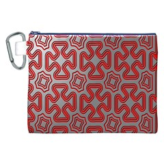 Christmas Wrap Pattern Canvas Cosmetic Bag (XXL)