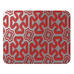 Christmas Wrap Pattern Double Sided Flano Blanket (Large)