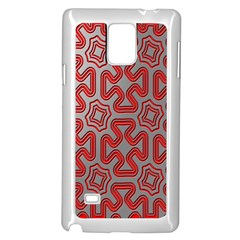 Christmas Wrap Pattern Samsung Galaxy Note 4 Case (White)
