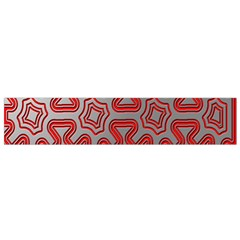Christmas Wrap Pattern Flano Scarf (Small)