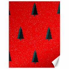 Christmas Time Fir Trees Canvas 12  x 16