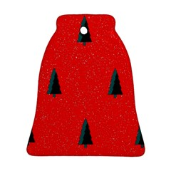 Christmas Time Fir Trees Ornament (Bell)