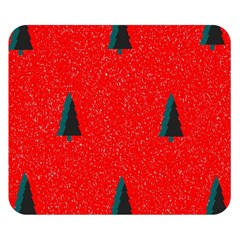 Christmas Time Fir Trees Double Sided Flano Blanket (Small)