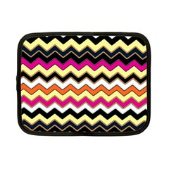 Colorful Chevron Pattern Stripes Netbook Case (Small)