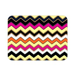 Colorful Chevron Pattern Stripes Double Sided Flano Blanket (Mini)