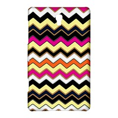 Colorful Chevron Pattern Stripes Samsung Galaxy Tab S (8.4 ) Hardshell Case