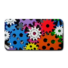 Colorful Toothed Wheels Medium Bar Mats