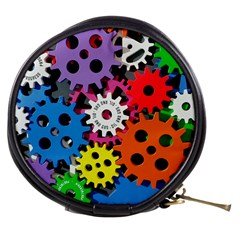 Colorful Toothed Wheels Mini Makeup Bags