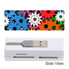 Colorful Toothed Wheels Memory Card Reader (Stick)