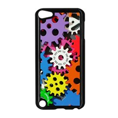 Colorful Toothed Wheels Apple iPod Touch 5 Case (Black)