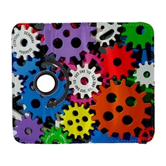 Colorful Toothed Wheels Galaxy S3 (Flip/Folio)