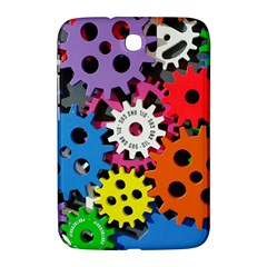 Colorful Toothed Wheels Samsung Galaxy Note 8.0 N5100 Hardshell Case