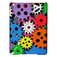 Colorful Toothed Wheels iPad Air Hardshell Cases