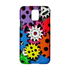 Colorful Toothed Wheels Samsung Galaxy S5 Hardshell Case