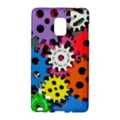 Colorful Toothed Wheels Galaxy Note Edge