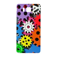 Colorful Toothed Wheels Samsung Galaxy Alpha Hardshell Back Case