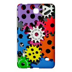 Colorful Toothed Wheels Samsung Galaxy Tab 4 (8 ) Hardshell Case