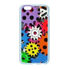 Colorful Toothed Wheels Apple Seamless iPhone 6/6S Case (Color)