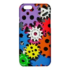 Colorful Toothed Wheels iPhone 6/6S TPU Case