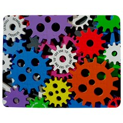 Colorful Toothed Wheels Jigsaw Puzzle Photo Stand (Rectangular)